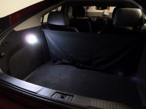 Kofferraum mit LED